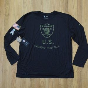 Oakland Raiders Nike Salute To Service Shirt NFL